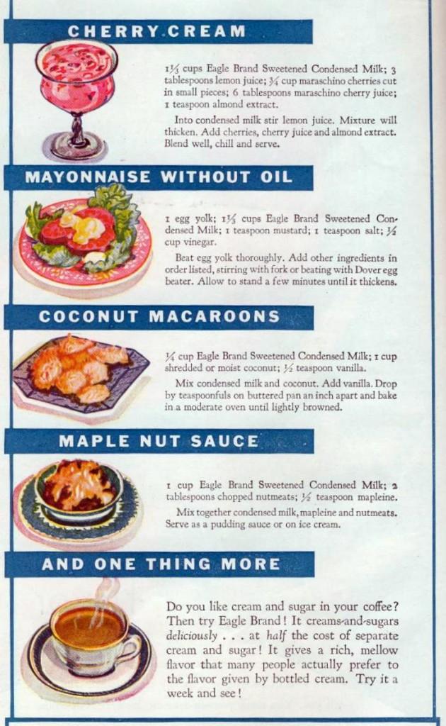 Magic Recipes, 1928