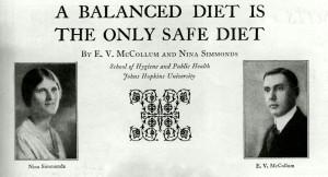 a vintage balanced diet