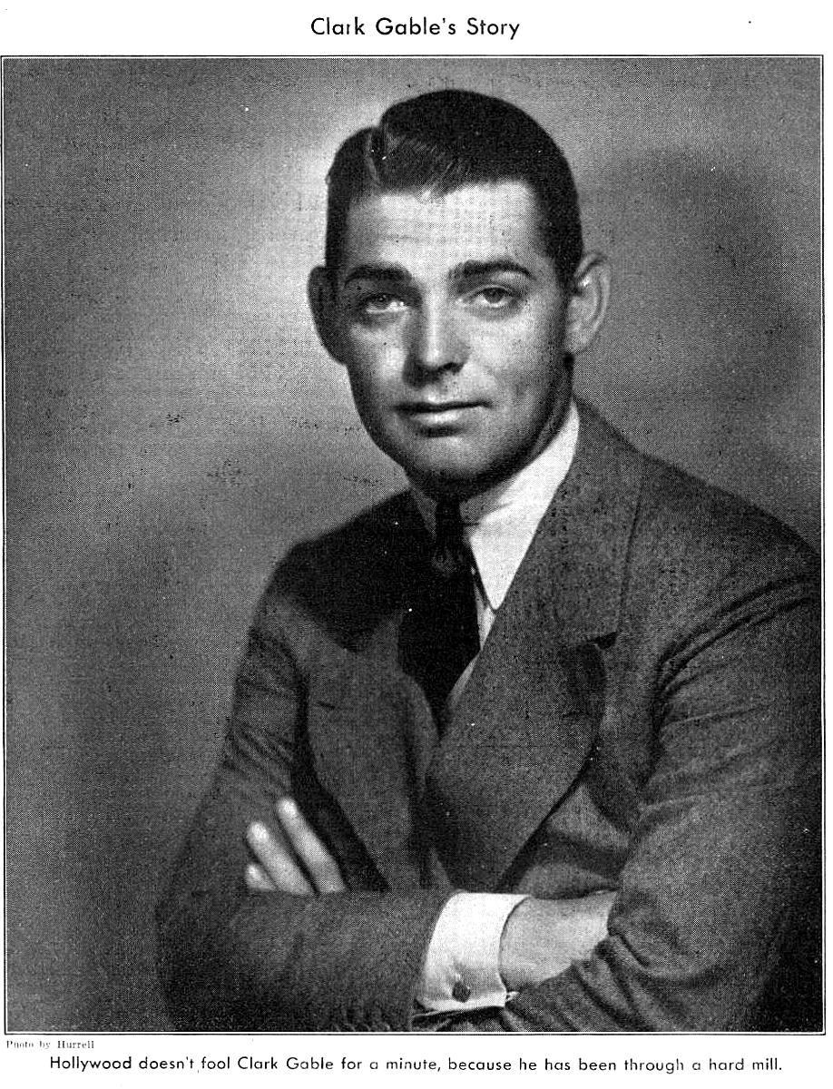 an introduction to the life and history of clark gable The actor was the son of william gable, an oil field worker, and adeline hershelman, a farm girl who died when clark was 1 year old when gable was 4, his father married jennie dunlap.