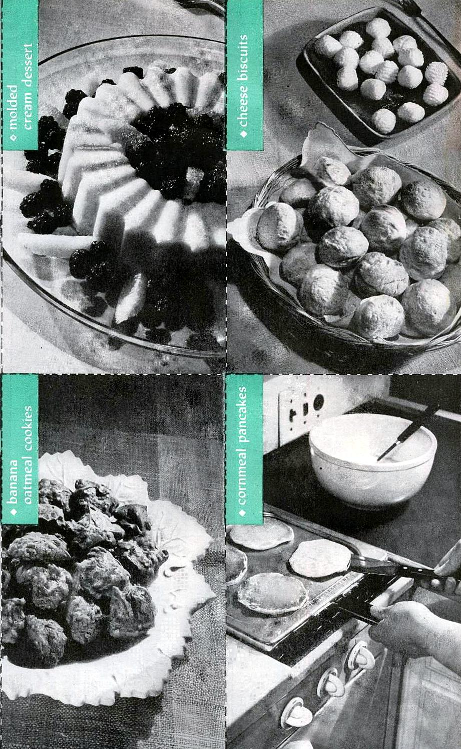 Vintage recipe cards 1947 1947 vintage recipes from thevintagesite forumfinder Gallery