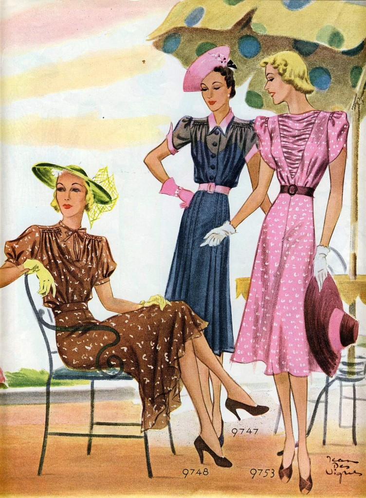 If it's sheer, it's chic, 1938