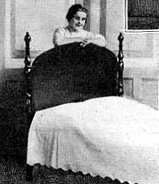 steps to follow to make the bed, 1917