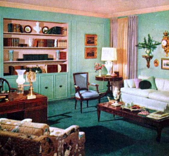 Mid-Century living room, from 1958