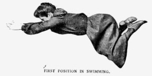 Motion in Swimming, 1904