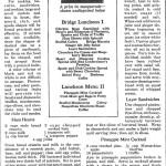 Bridge Party Recipes, 1923