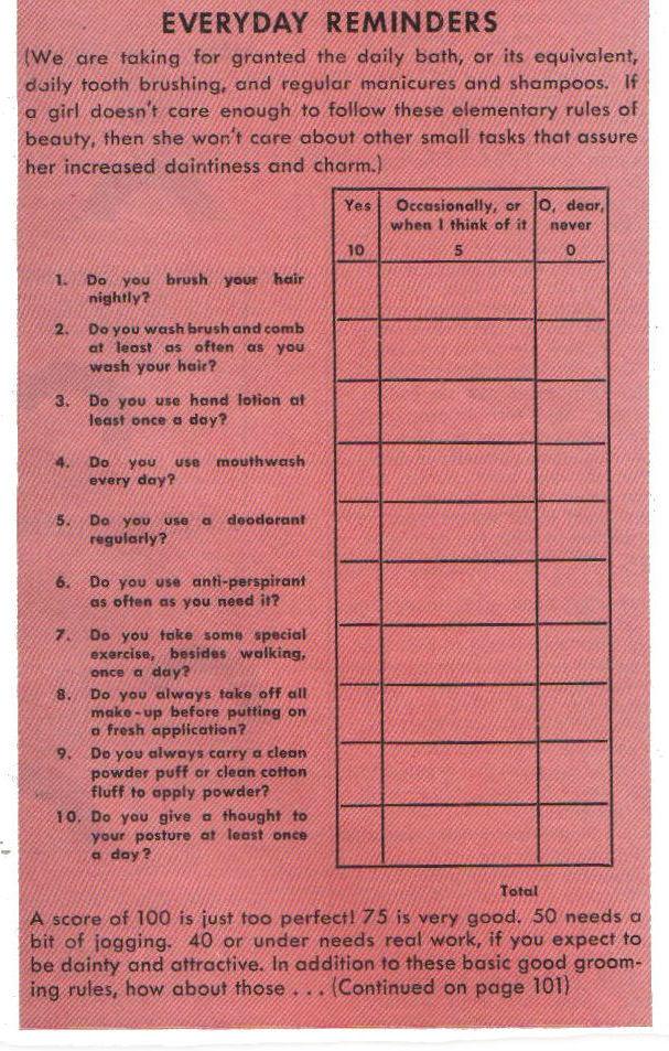 1939 Personality Quiz