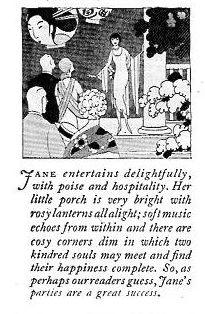 Plain Jane Cartoon, 1925
