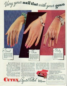 The Complete Cutex Manicure, 1933