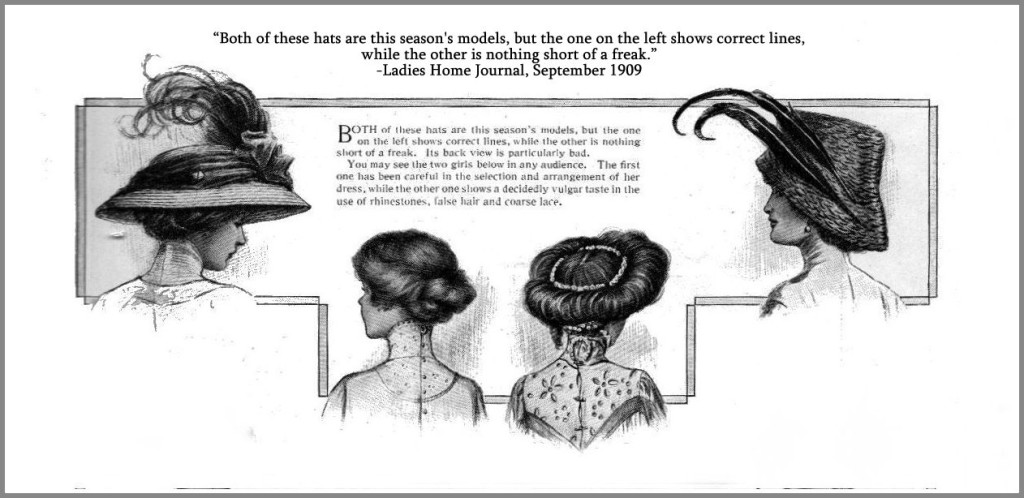 Women as seen from the back