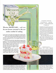 Wesson Oil ad from 1929