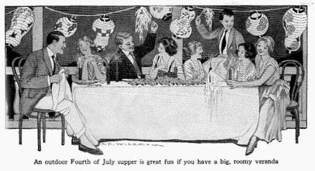 Fourth of July Party in 1916
