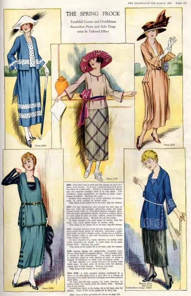 1920 Vintage Fashion