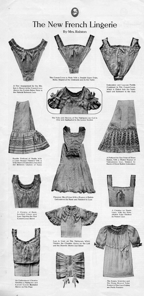 Vintage French Lingerie from 1910