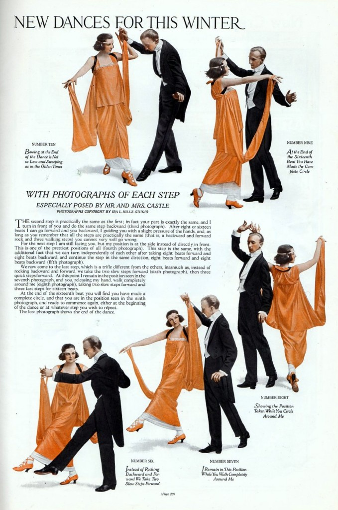 The Gavotte dance instructions from 1914