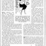 using brushes to make housework easier, 1922