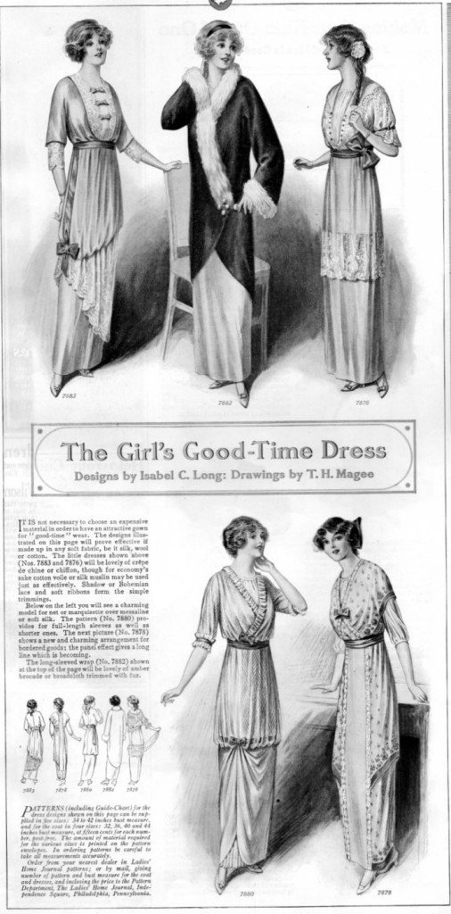 vintage dresses from 1913