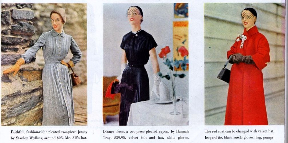 Fashions for Work from 1950