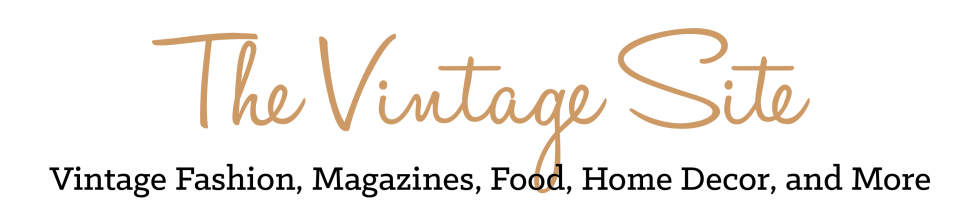 The Vintage Site header image